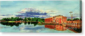 The Best Dam Town In Minnesota Canvas Print