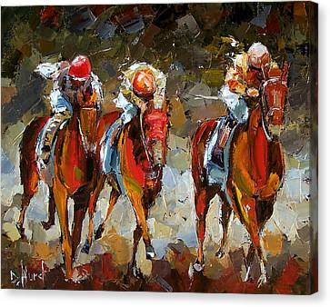 The Best Canvas Print by Debra Hurd