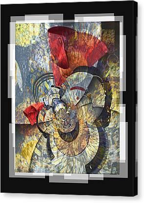 The Big Bang Canvas Print by Chuck Brittenham