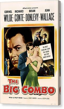 The Big Combo 1955 Canvas Print by Mountain Dreams
