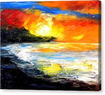 The Big Island Canvas Print by David McGhee
