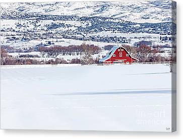 The Big Red Barn Large Canvas Art, Canvas Print, Large Art, Large Wall Decor, Home Decor, Photograph Canvas Print