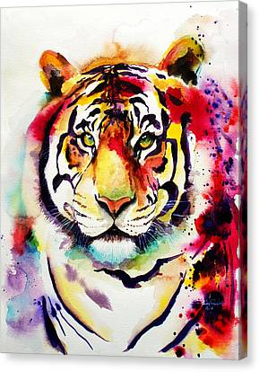 The Big Tiger Canvas Print by Isabel Salvador