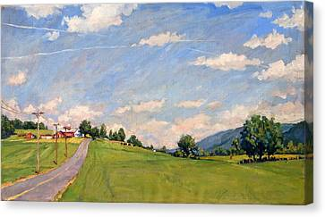 The Big View Berkshires Canvas Print by Thor Wickstrom