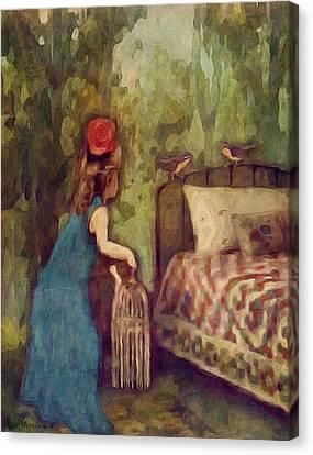 The Bird Catcher Canvas Print