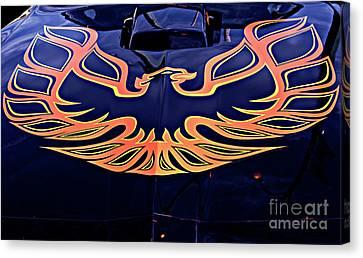 The Bird - Pontiac Trans Am Canvas Print