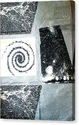 The Birth Of A Star Canvas Print by Marja Koskinen-Talavera