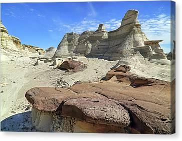 The Bisti Badlands - New Mexico - Landscape Canvas Print by Jason Politte