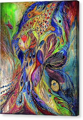 The Black Iris Canvas Print by Elena Kotliarker