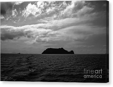 Angthong Canvas Print - The Black Island by Michelle Meenawong