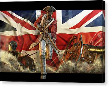 The Black Loyalist Canvas Print by Kurt Miller