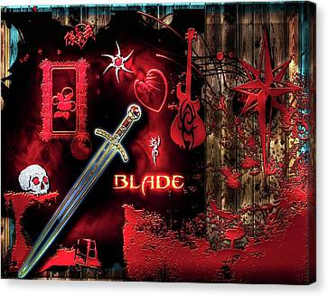 The Blade Canvas Print