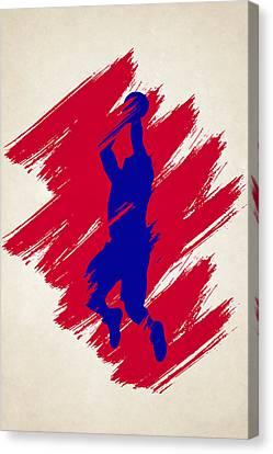 The Blake Canvas Print by Joe Hamilton