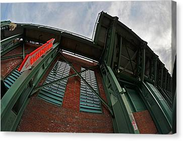 The Bleacher Bar At Fenway Park In Boston Canvas Print by Toby McGuire