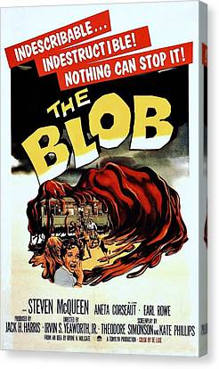 The Blob  Canvas Print by Movie Poster Prints