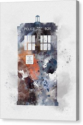 The Blue Box Canvas Print
