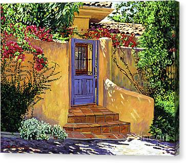 The Blue Door Canvas Print