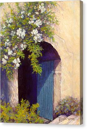 The Blue Door Canvas Print by Tanja Ware