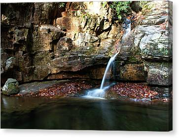 The Blue Hole In November #2 Canvas Print by Jeff Severson