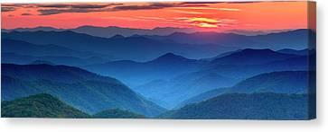 The Blue Ridge Canvas Print