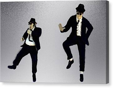 The Blues Brothers Canvas Print by Jeff DOttavio