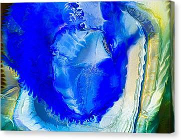 The Blues Canvas Print by Omaste Witkowski