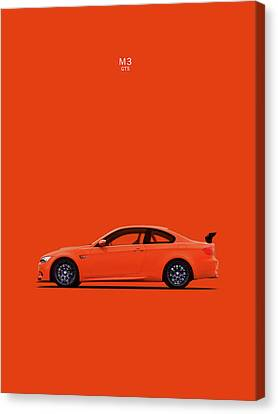 The Bmw M3 Gts Canvas Print by Mark Rogan
