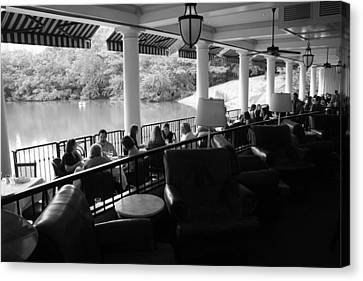 The Boathouse Central Park Canvas Print