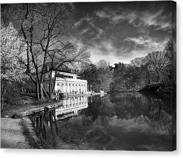 The Boathouse Of Prospect Park II Canvas Print