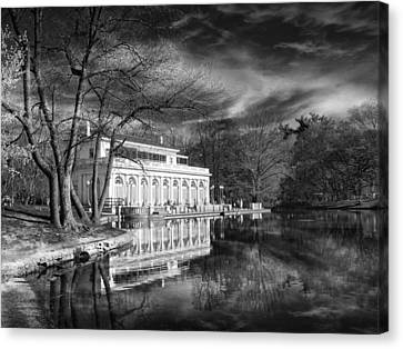 The Boathouse Of Prospect Park Canvas Print