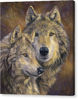 Timber Canvas Print - The Bond by Lucie Bilodeau