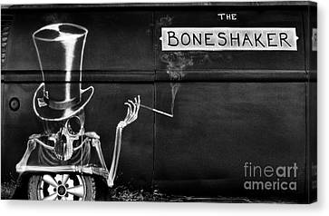 The Bone Shaker Canvas Print by Tim Gainey