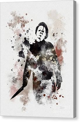 The Boogeyman Canvas Print by Rebecca Jenkins