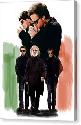 The Boondock Saints  Redemption Canvas Print by Iconic Images Art Gallery David Pucciarelli
