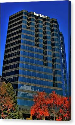 Atlanta Convention Canvas Print - The Borland Atlanta by Corky Willis Atlanta Photography