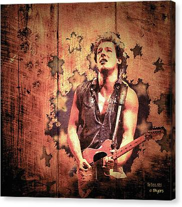 The Boss 1985 Canvas Print