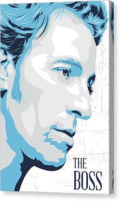 The Boss Canvas Print