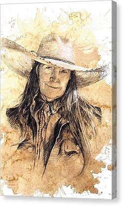 The Boss Canvas Print by Debra Jones
