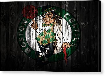 The Boston Celtics 5c Canvas Print by Brian Reaves
