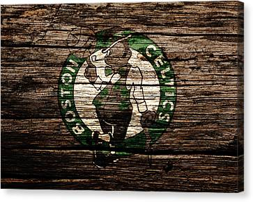 The Boston Celtics 6e Canvas Print by Brian Reaves