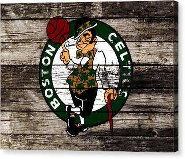 The Boston Celtics W10 Canvas Print