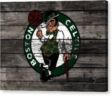 The Boston Celtics W7 Canvas Print