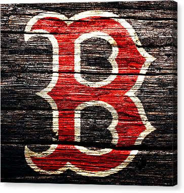 The Boston Red Sox 2a Canvas Print by Brian Reaves