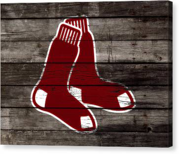 The Boston Red Sox W6   Canvas Print by Brian Reaves