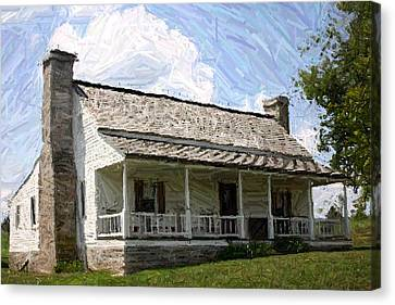 The Bottom House  - Perryville Ky Canvas Print by Thia Stover