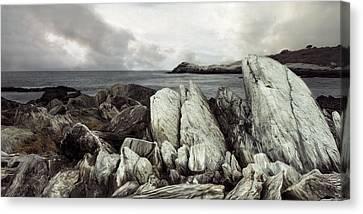 Canvas Print featuring the photograph The Boulder Breach by Robin-Lee Vieira