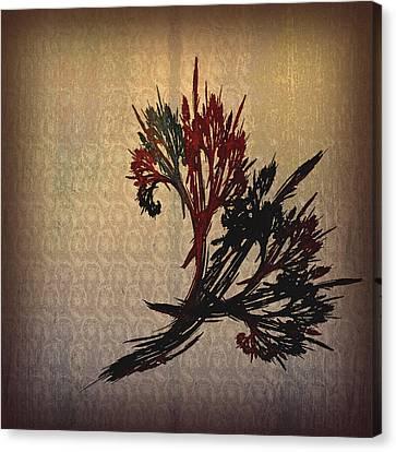 The Bouquet Canvas Print by Bonnie Bruno
