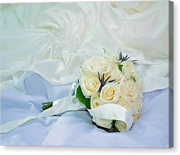 The Bouquet Canvas Print by Keith Armstrong