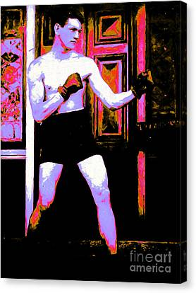 The Boxer - 20130207 Canvas Print by Wingsdomain Art and Photography
