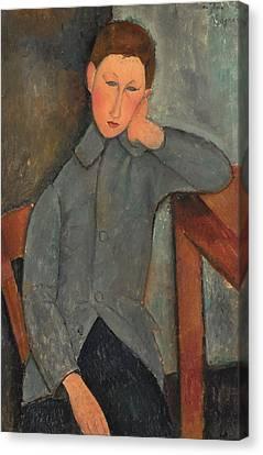 The Boy 1919 Canvas Print